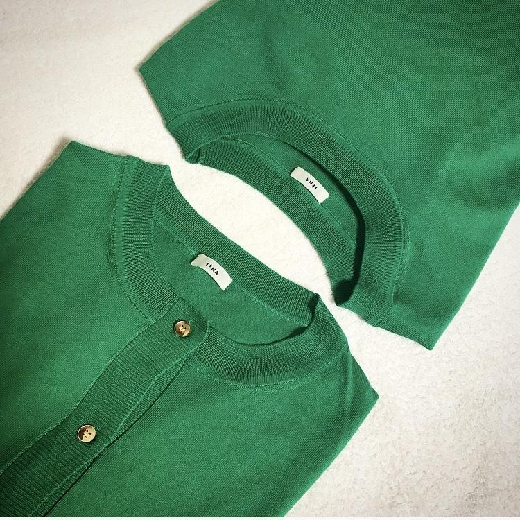 この春の注目色「グリーン」を美女組さんはどう着る?【マリソル美女組ブログPICK UP】_1_1-3