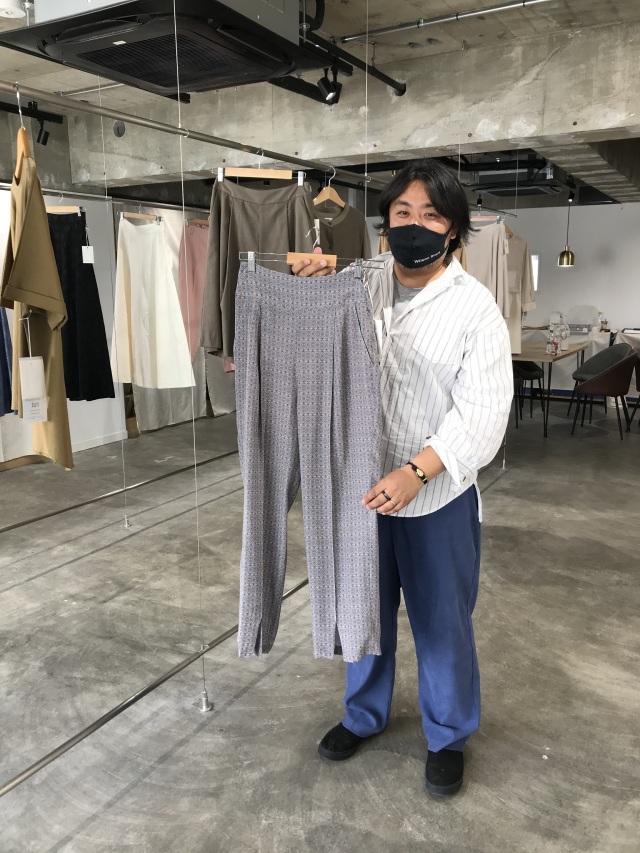 服を大切にする女性に向けたブランド【Rut ラット】 2021SS展示会へ_1_3-1