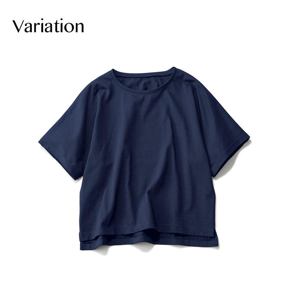 エムセブンデイズのこなれゆるTシャツ