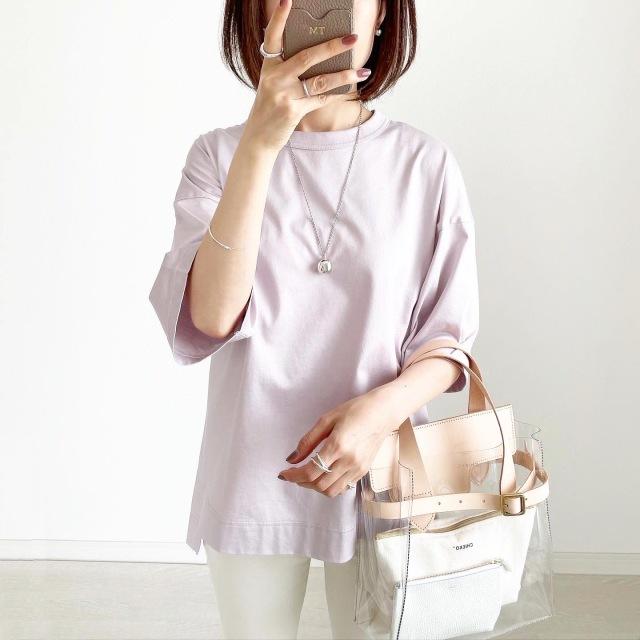 『UNIQLO+J』やっぱりこれが好き♡神Tシャツ着まわし【tomomiyuコーデ】_1_1