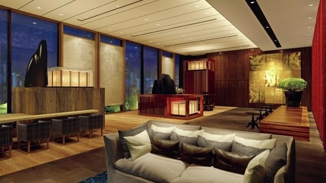 金沢の伝統工芸や意匠にインスピレーションを受けたロビー
