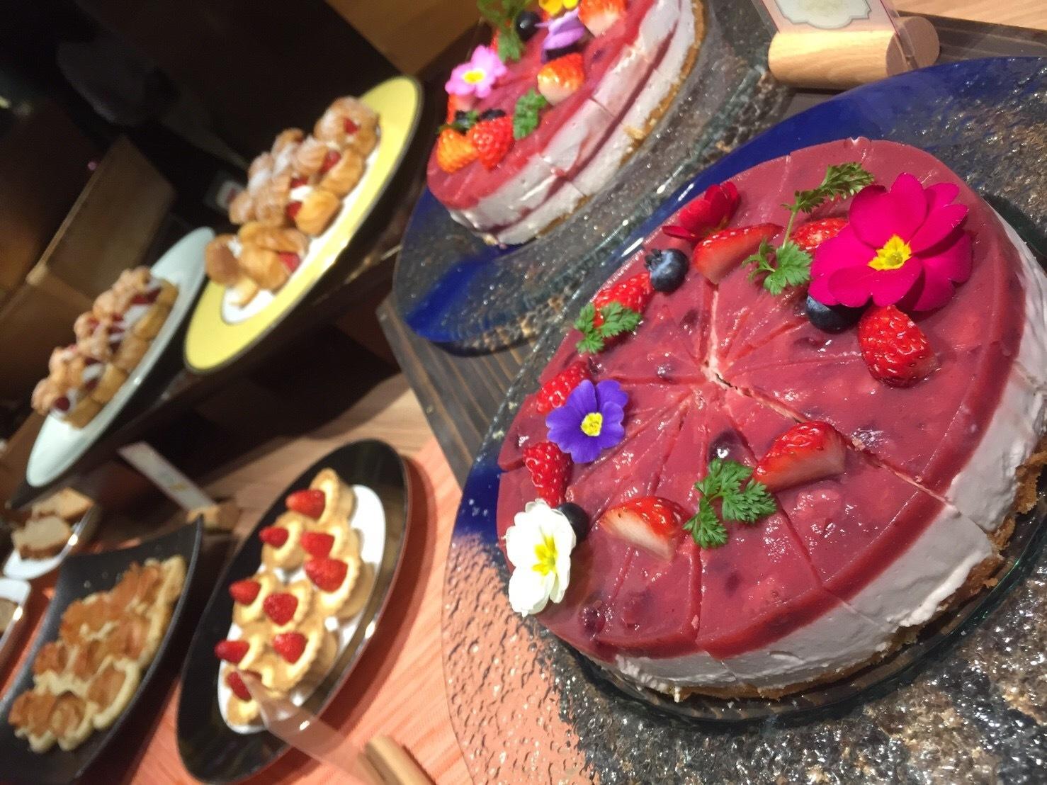 スイーツ好き必見!京都タワーホテル Berry sweets buffet ♡_1_3