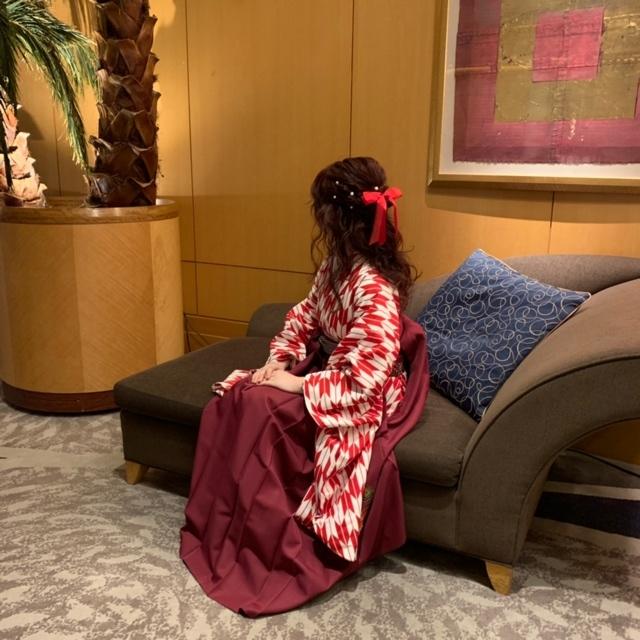 【 卒業式 】私が着た袴はコレ!_1_2