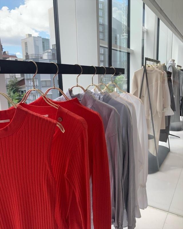 サスティナブルでイージーケアな新ブランド「#Newans」展示会へ。_1_5-3