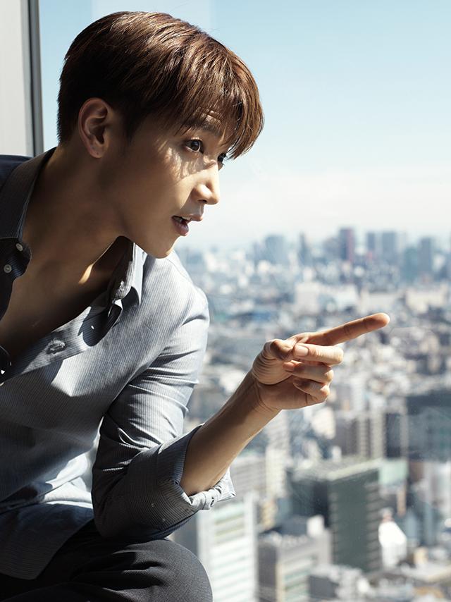 Jun. K(From 2PM)インタビュー掲載の エクラ5月号は明日発売!_1_1