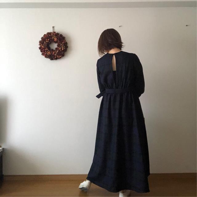 長身女子のロングスカート、着丈が短くなりがち問題。_1_2