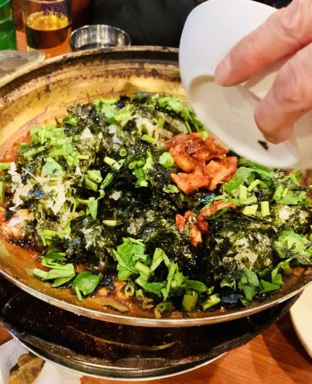 ソウル2019冬。本当に美味しかった店だけ③濃厚すぎるタラ鍋で作る、究極の〆飯_1_7