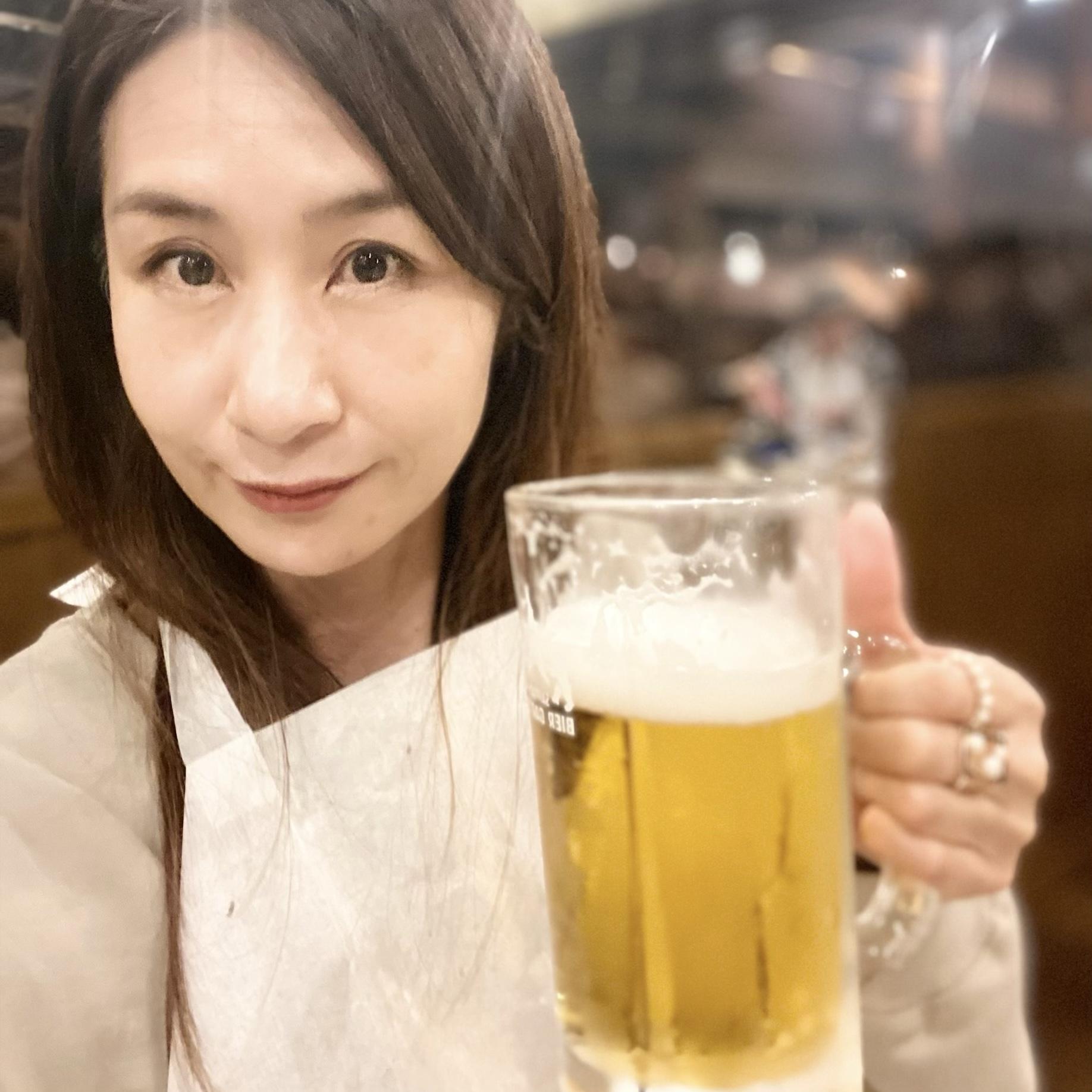 生ビールが美味し過ぎた