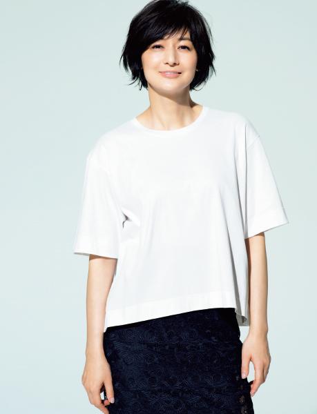 女らしさと高見えが叶う「富岡Tシャツ」で夏のおしゃれを楽しむ!_1_1-1