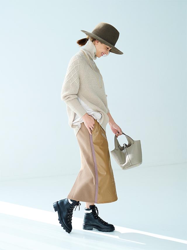 【Style 05】異素材をドッキングしたサイドスタイルで全方位サマになる