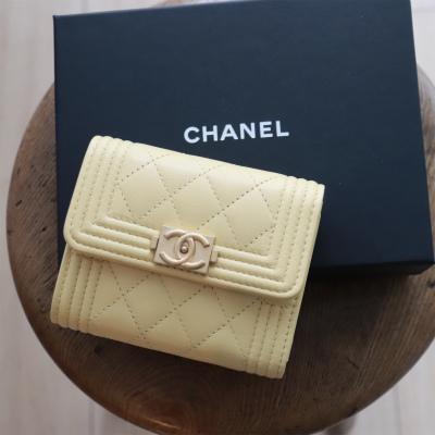 シャネルの春色ミニ財布で気持ちも金運もあげていこう!_1_1