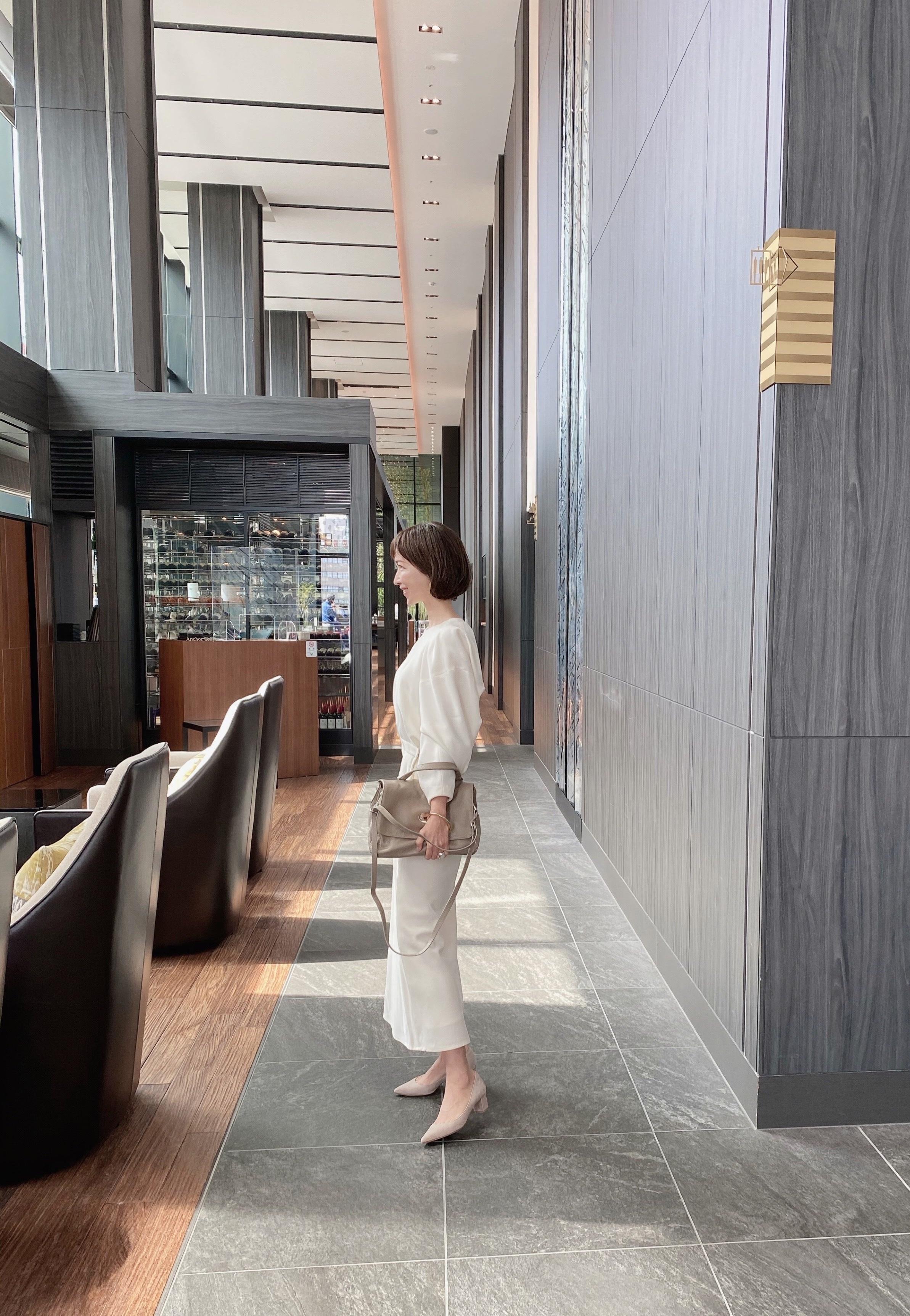 ハンサムロングスカート 〜ホワイト〜_1_3