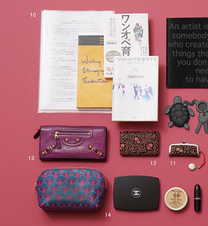 取材と研究にいそしむ人気教授のデザインアイテム【働くアラフォーのバッグの中身】_3_2