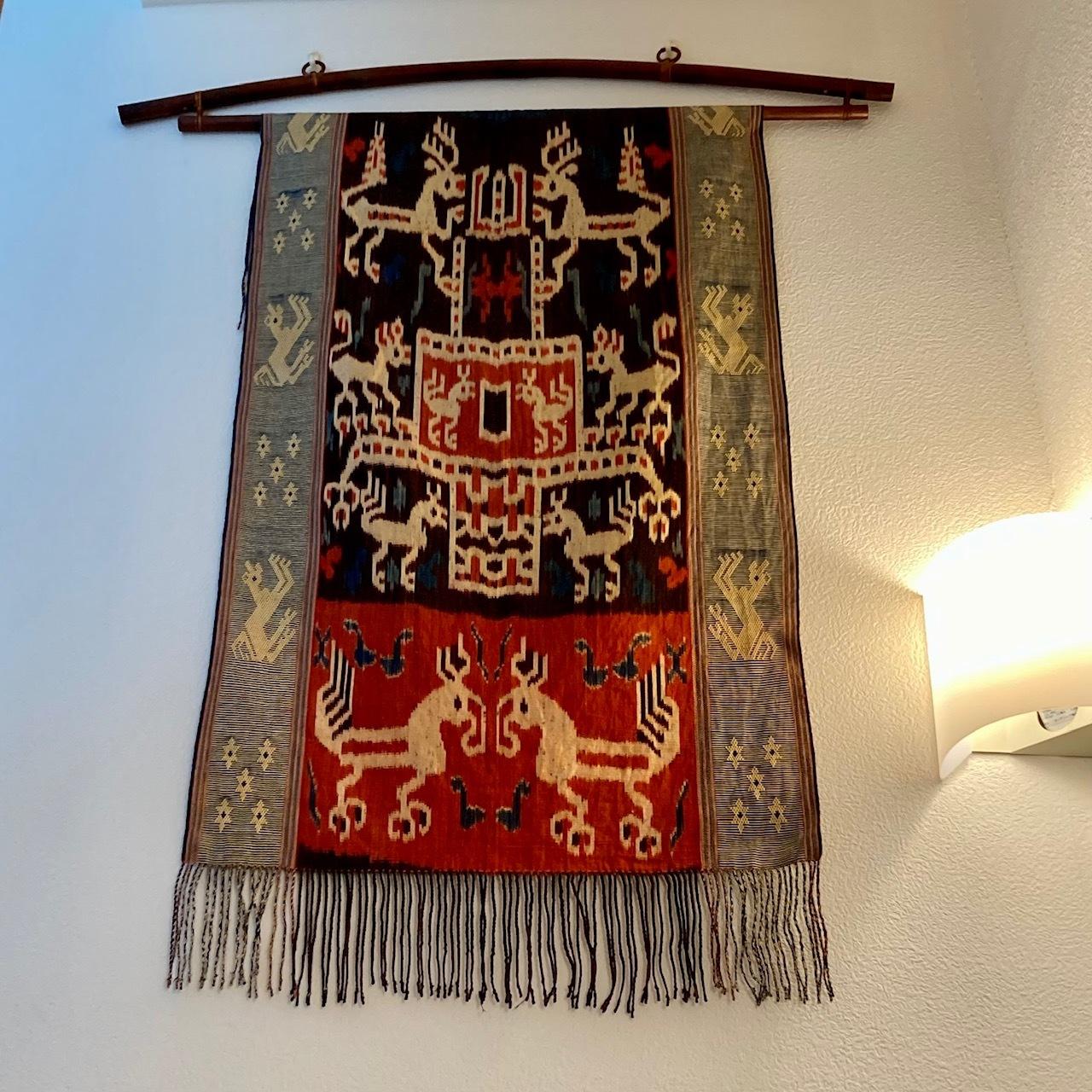 バリのウブドで購入したインドネシアの織物イカット