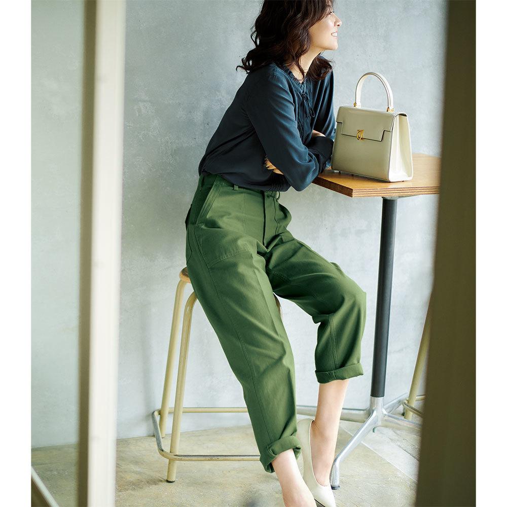 アラフォーの着こなしをきりっとクールに。上品で今っぽいパンツコーデは? | 2019 | 40代レディースファッション_1_30