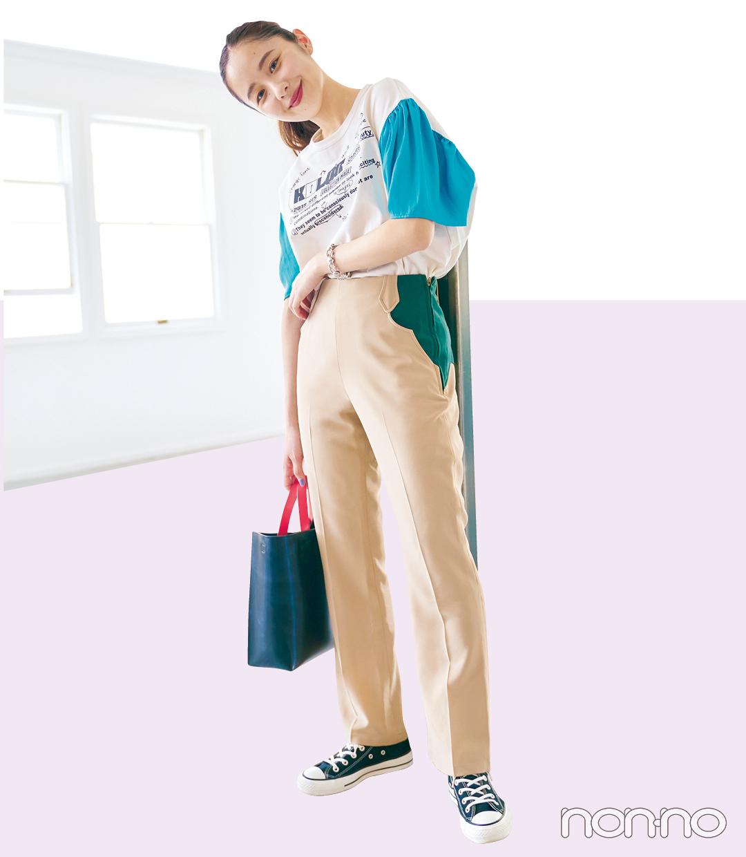堀田真由の夏私服1週間コーデday5