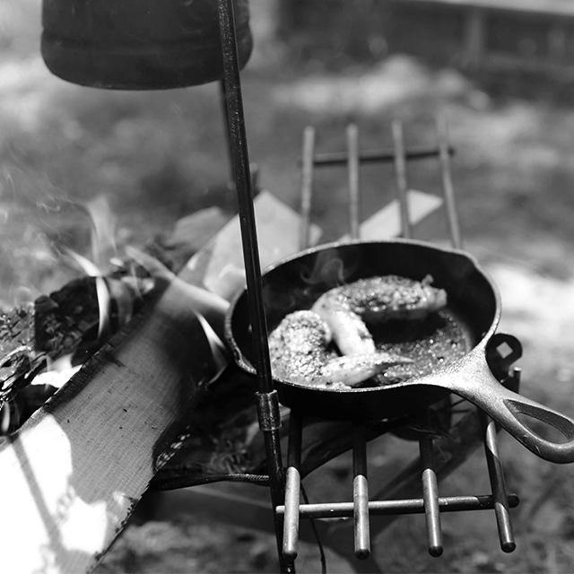 外で食べる料理は格別