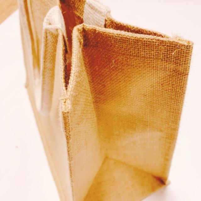ジュートマイバッグ A4  250円