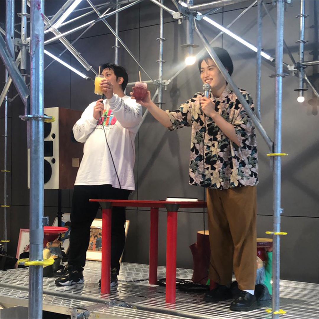 渋谷PARCO10階のビアガーデン「ComMunE ROOFTOP BAR」イベントの様子