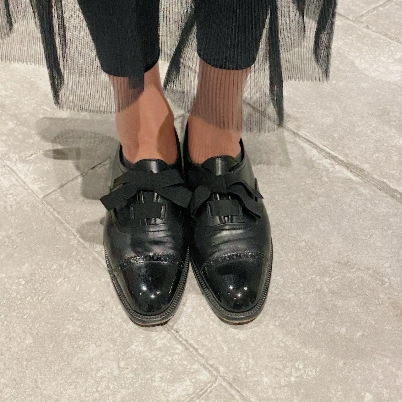 10月号特別付録のバッグと格上げフラット靴で話題のミュージカル鑑賞へ_1_3-1