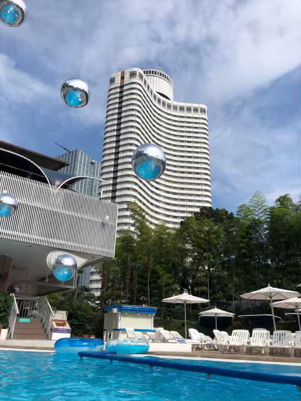 ①【ホテルプール】都心で高級リゾート気分♩_1_1