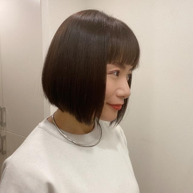思い切って前髪カット&タッセルボブに♡_1_2