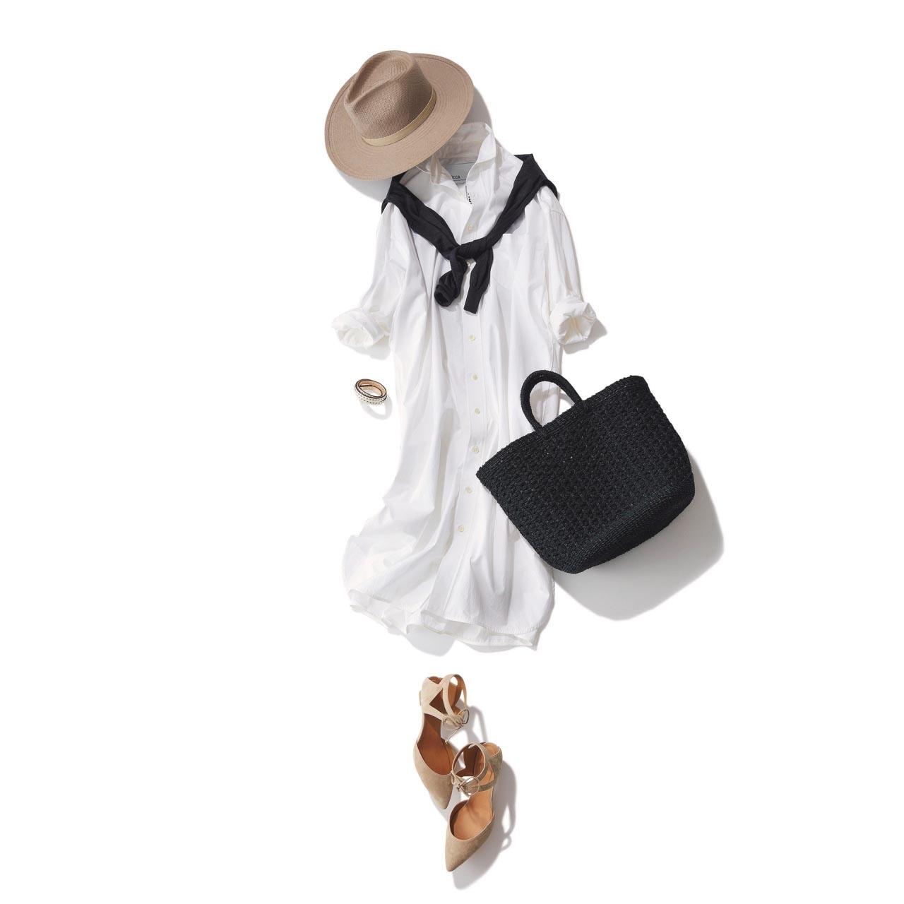 40代のためのシャツワンピース着こなし実例集|アラフォーファッション_1_31