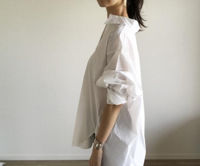 今季の白シャツ、私はこれ。【40代 私のクローゼット】_1_3