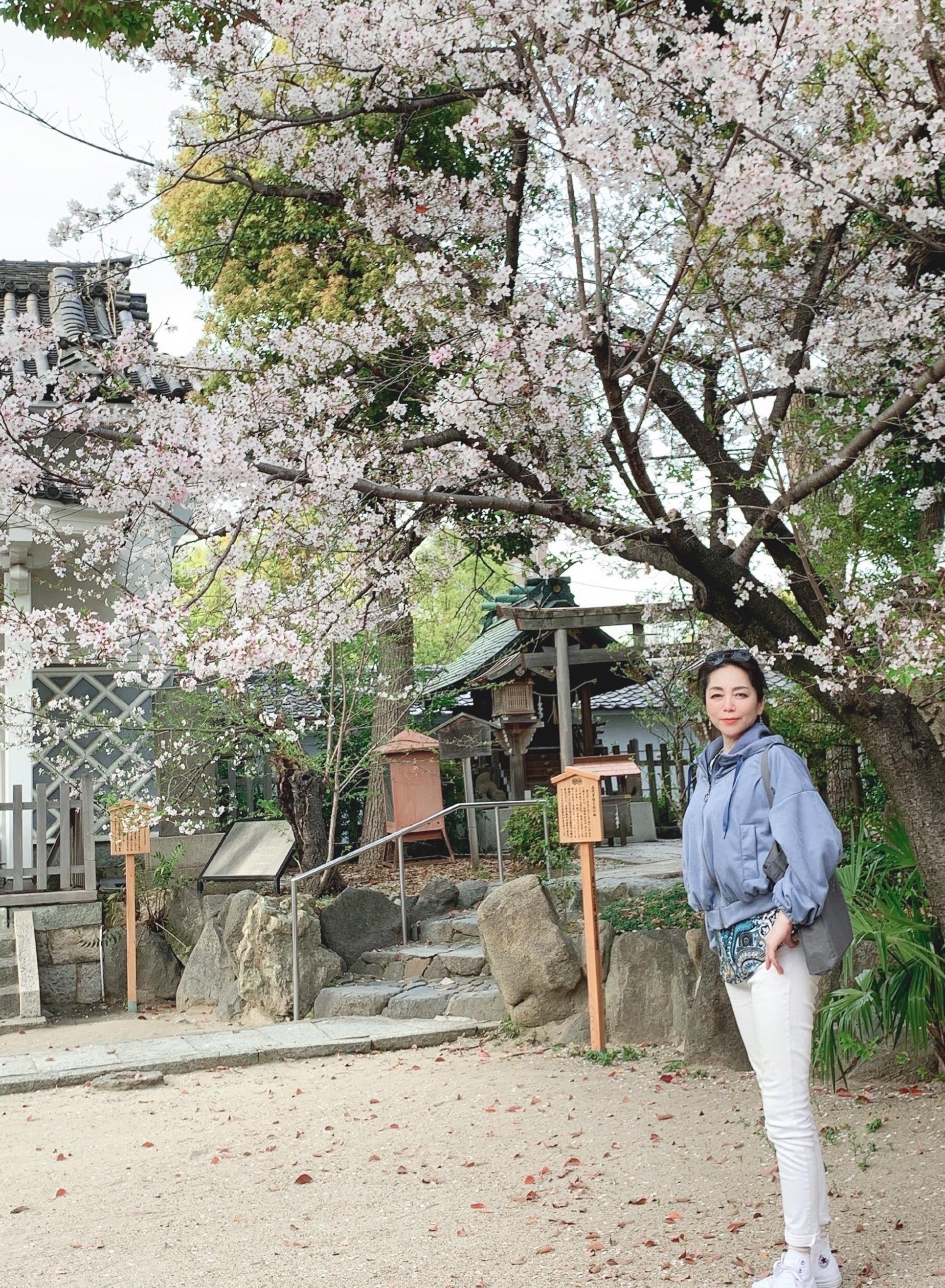 白デニムで出かけよう☆彡 春の散策・・・_1_3-1
