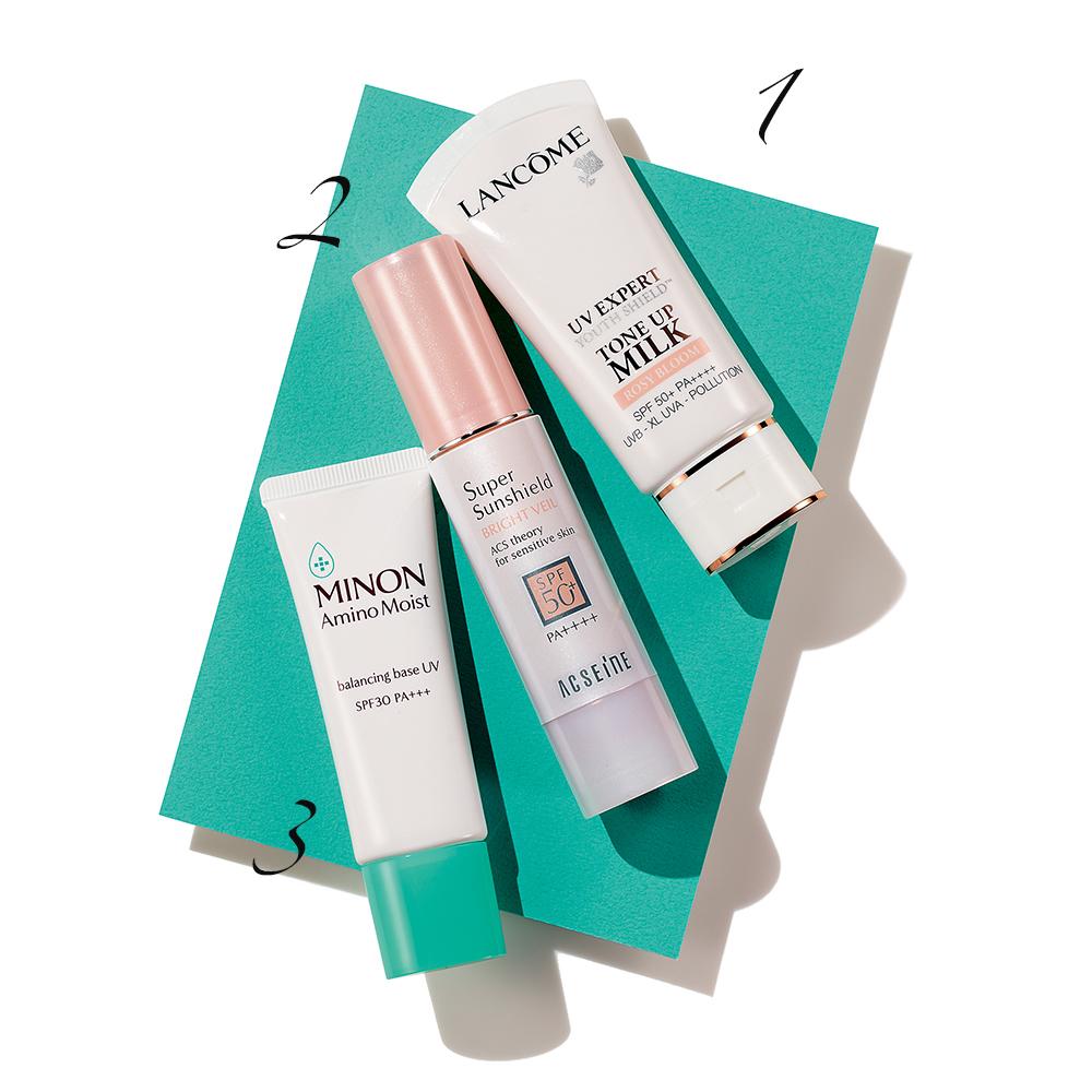 UV対策プラスαの効果がうれしい。新しいものにトライして美肌を守り抜こう!_1_1