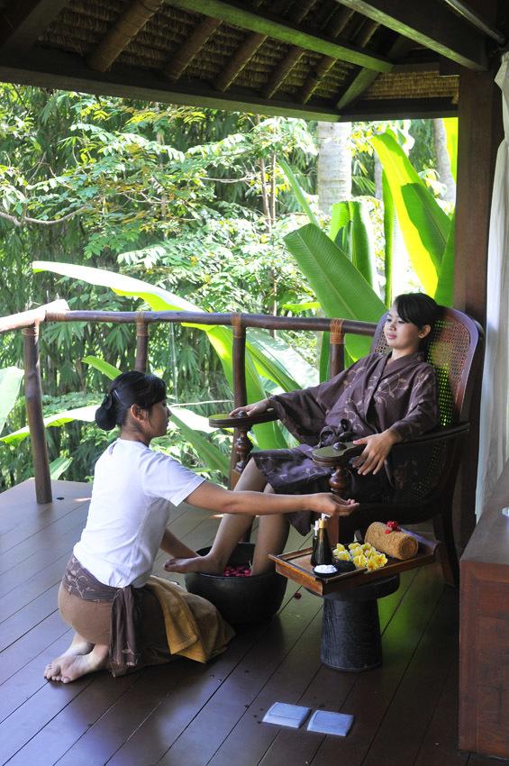 見事な熱帯の庭園 カユマニス ウブド 【インドネシアのお薦めホテル】_1_5-1