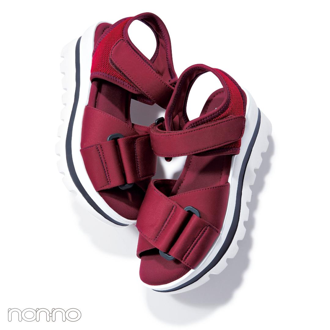 サンダル2019★ハイテク厚底スポサン系の靴下合わせ、正解教えます!_1_4-3