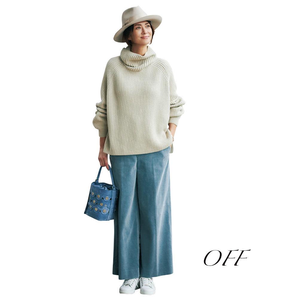 「女っぷりシンプル派」のための冬パンツはこれ!_1_1-3