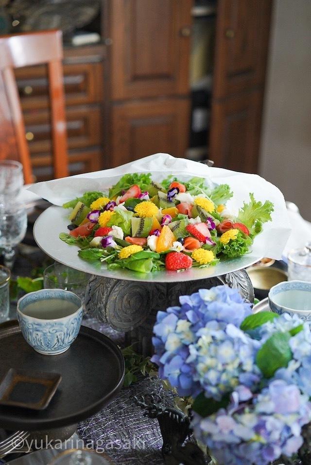 美サラダ ブーケサラダ
