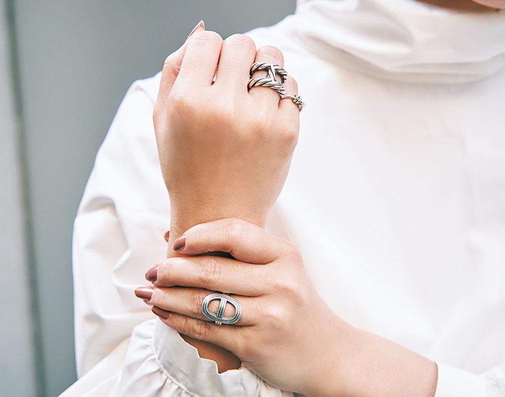 Tiffany&Hermèsrの手元コーデ_3