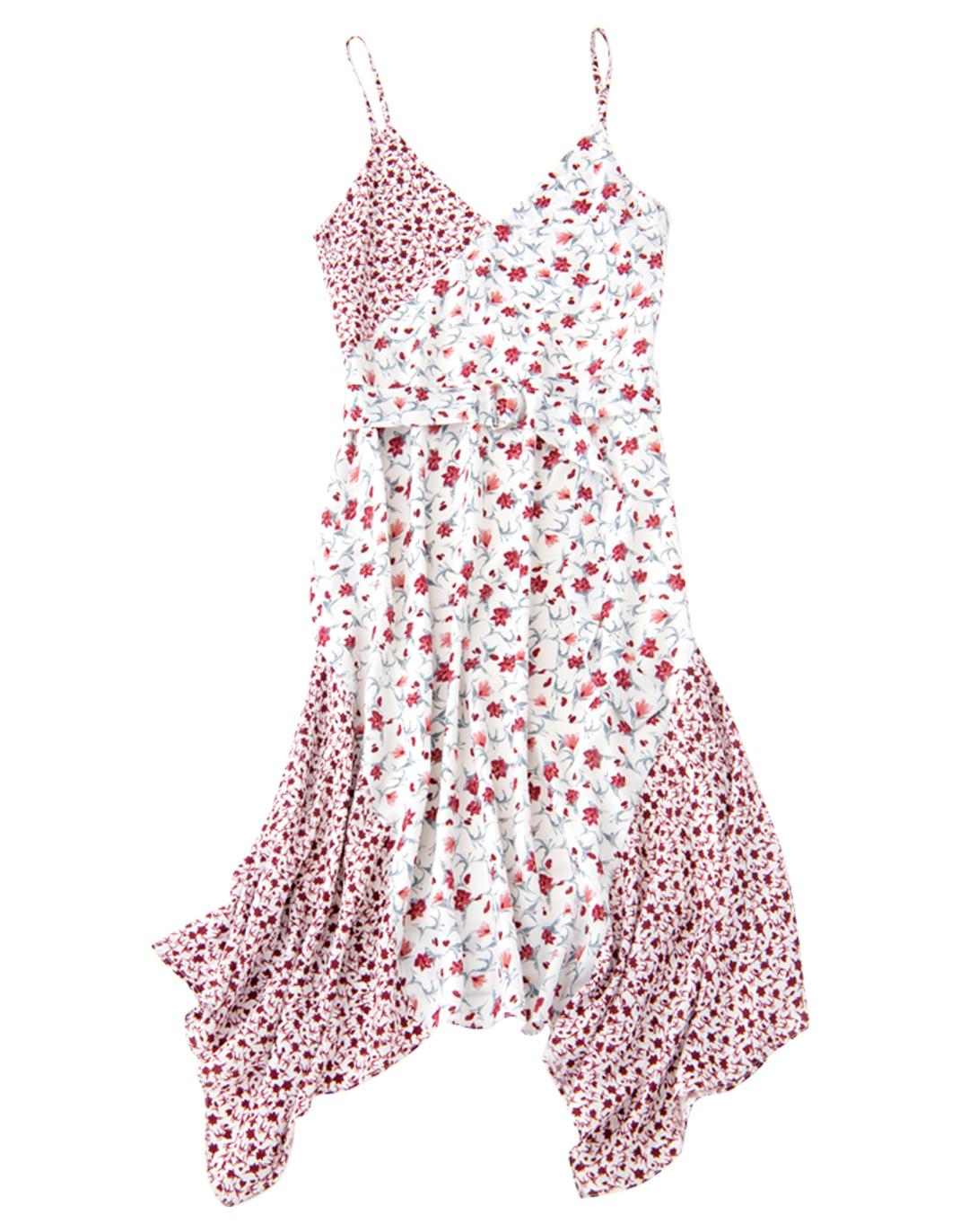 マーキュリーデュオの花柄切り替えスカートが可愛い!_1_4-1