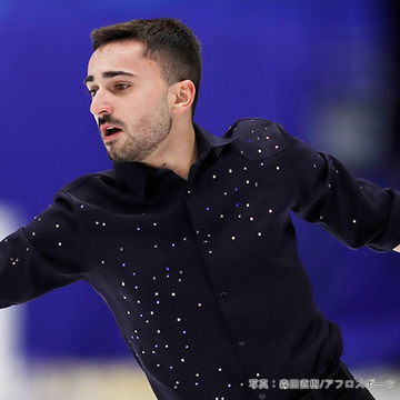 フィギュアスケート男子・フランス代表ケヴィン・エイモズ