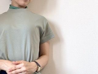 #GU アラフォーのTシャツは、小物で「盛る」が鉄則!_1_4