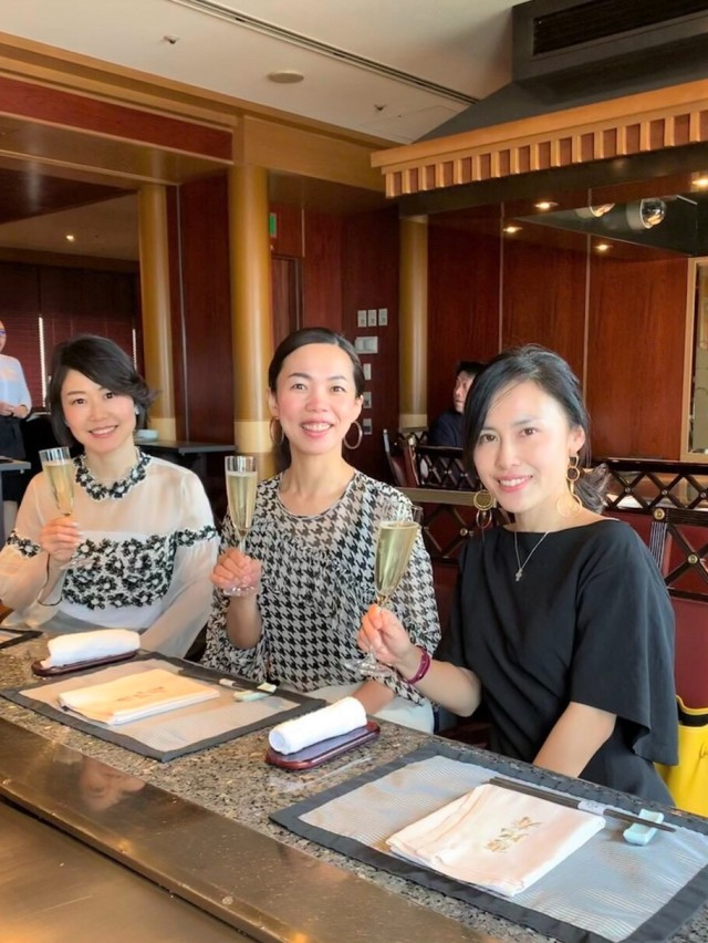 美女組さんと♪鉄板焼き「恵比寿」ウエスティンホテル東京へ_1_1