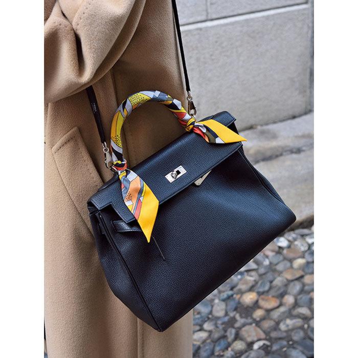 カジュアルも格上げしてくれる「レディなクラシックバッグ」【ファッションSNAP パリ・ミラノ編】_1_1-3