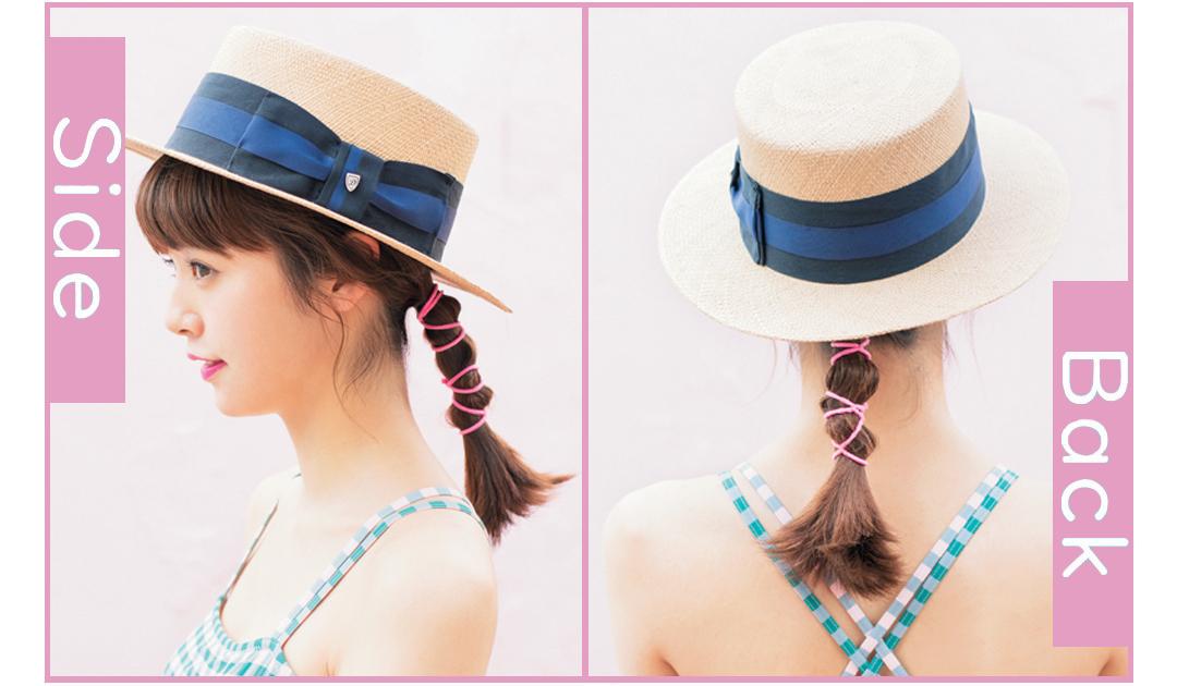 ビーチ女子会なら、濡れても可愛い一つ結びヘアアレンジ♡ _1_3