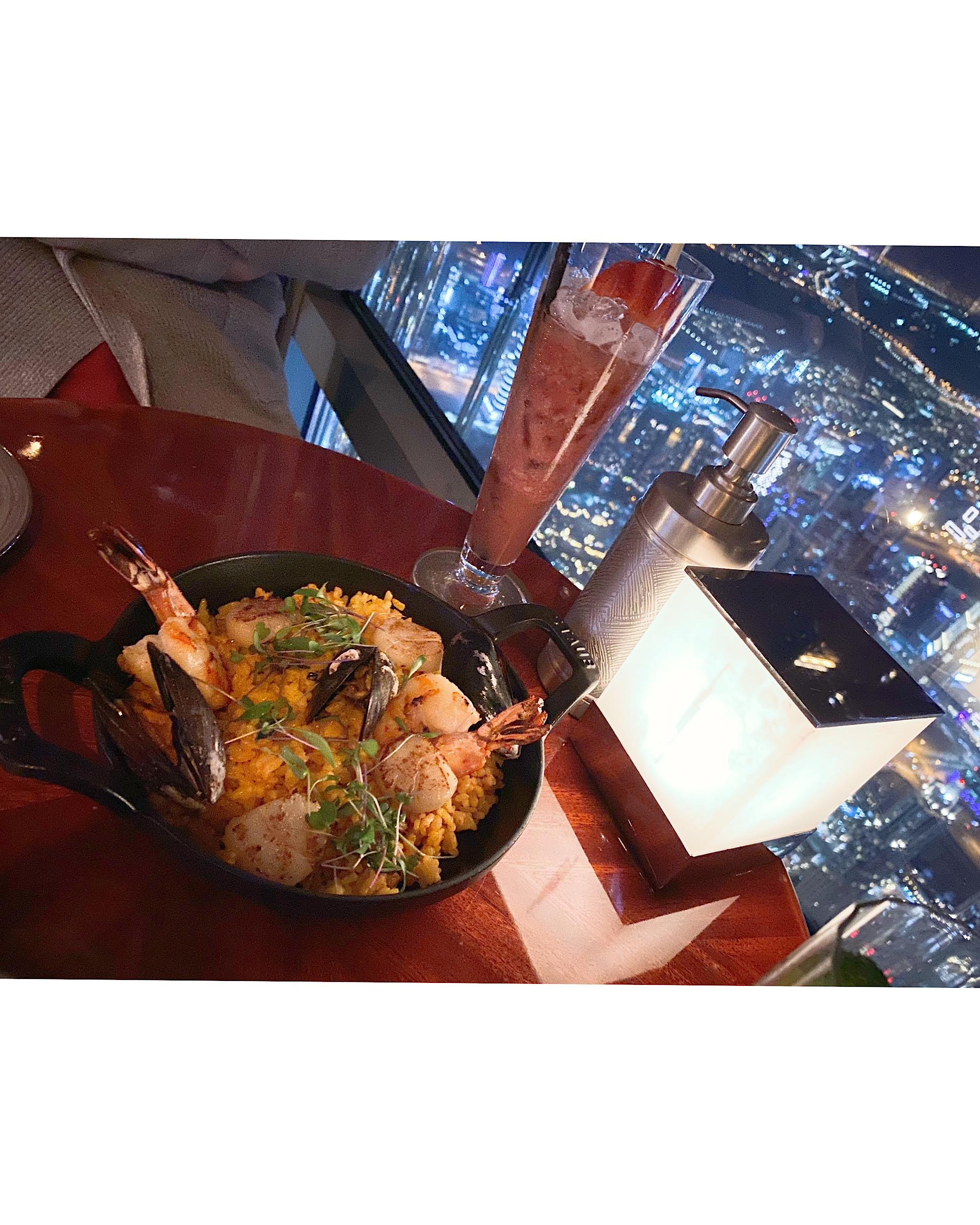 世界で一番高い場所にあるレストランへ〜ドバイ⑤〜_1_10