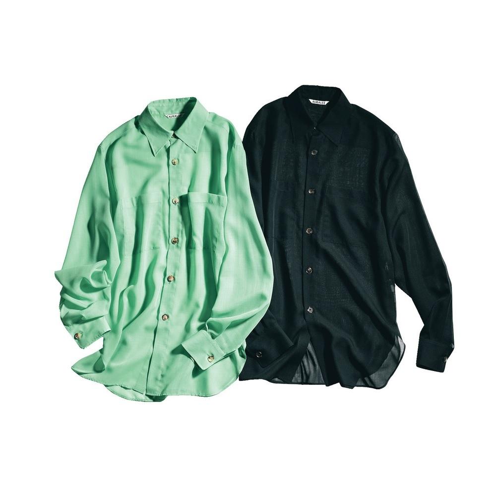 ファッション オーラリーのシャツ