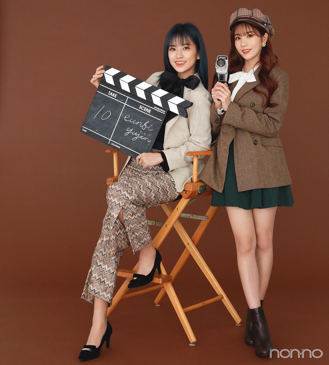 IZ*ONEメンバー|アン・ユジンさん、クォン・ウンビさん