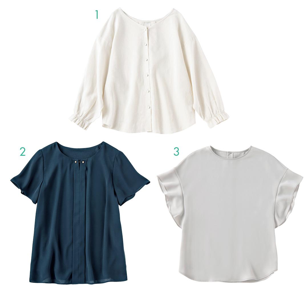 ガンガン洗えるシャツ&ブラウスの名品はこちら!【夏のオフィスカジュアル】_1_7