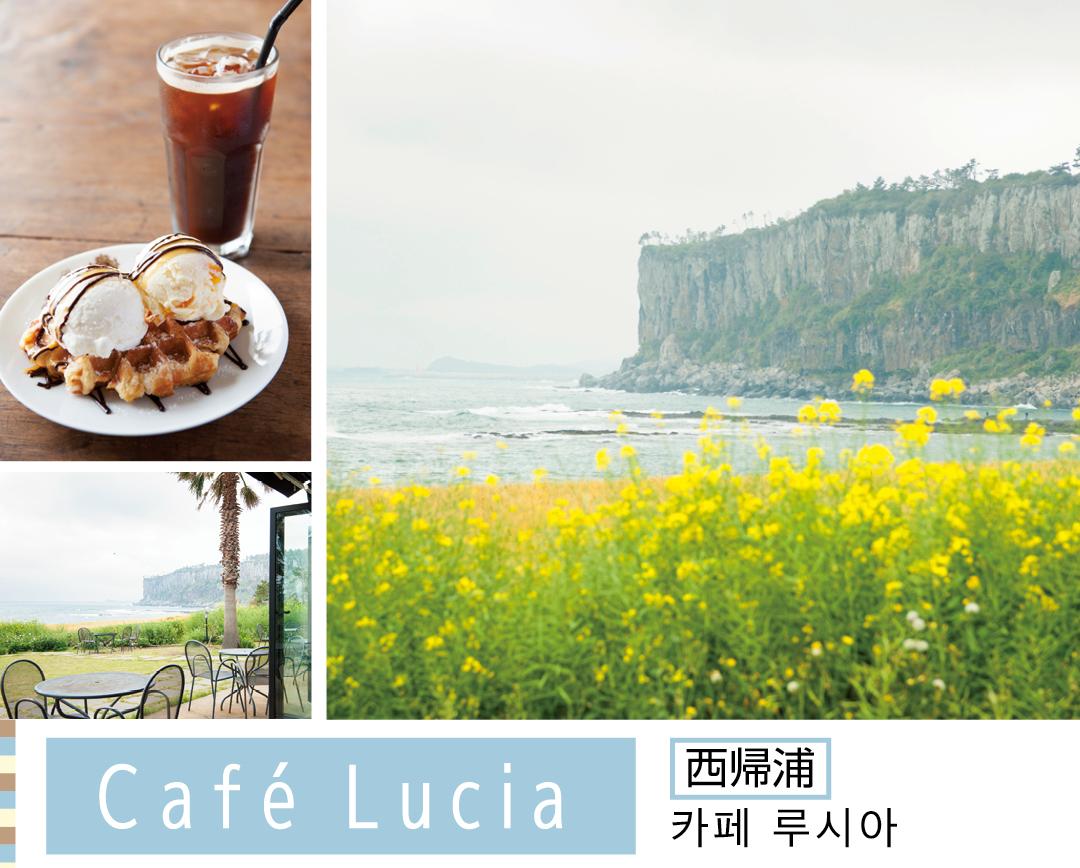 Cafe Lucia 西帰浦 카페 루시아