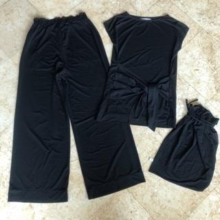 ジエットセッターズ セット トップスとパンツ 付属巾着袋