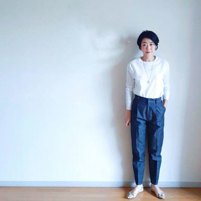 今こそデニムの更新に最適!アラフォーに似合う2021春夏デニムコーデまとめ|40代ファッション_1_23