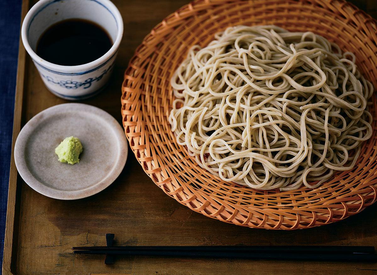 「手打ち蕎麦naru」の手打ち蕎麦 せいろツユセット