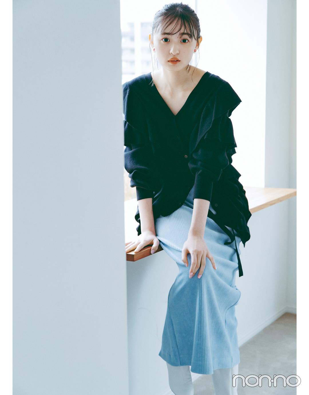 遠藤さくらSweet BLACK♡ きれい色と合わせて上級者っぽく_1_3